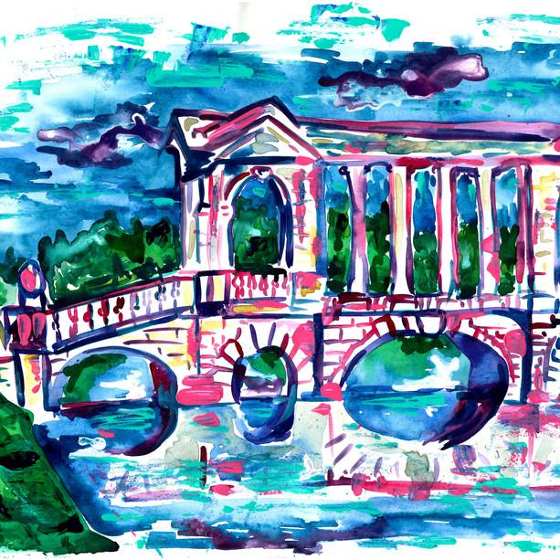 Palladian Bridge at Prior Park