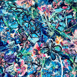 abstract-expressionist-floral-painting