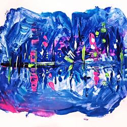 Indigo-Reflections-Marian-Simmons-Art