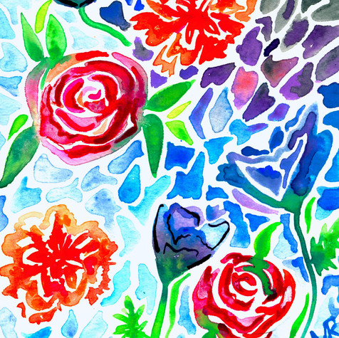 Petal Mosaic Study