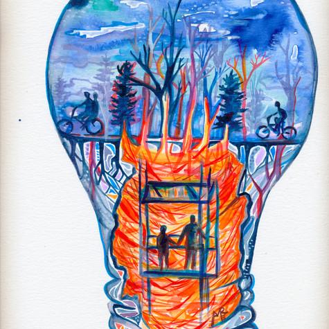 Stranger Things Lightbulb