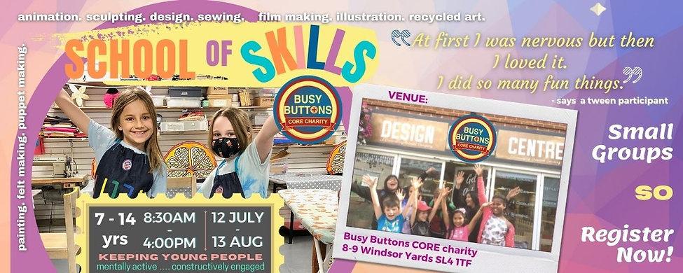 Website Banner Summer School of Skills21