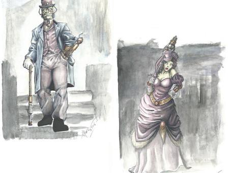 I Dinosauroidi - I personaggi