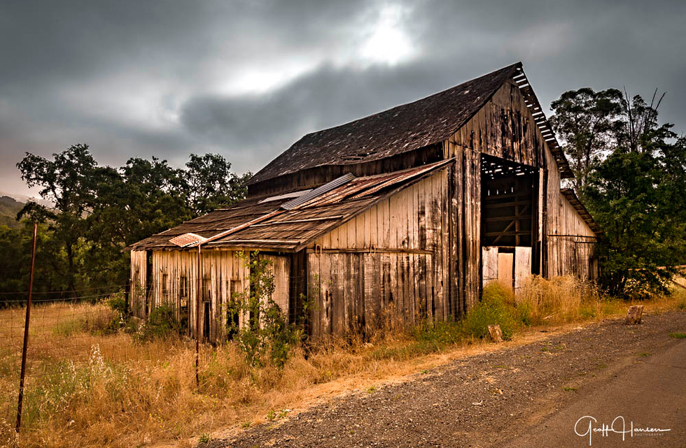 Old Barn on Howell Mountain