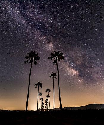 Milky Way over Napa Valley