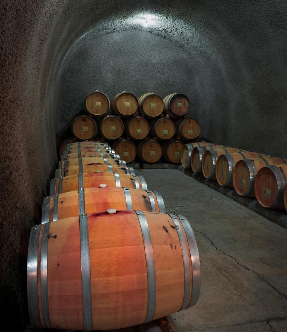 Cave with Barrels #2