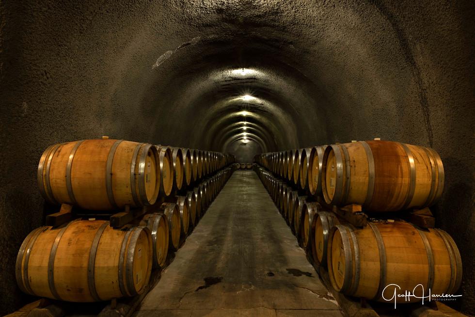 Cave With Barrels #1