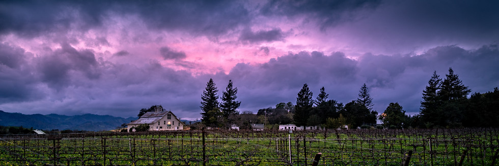 Stormy Skies Over Rutherford