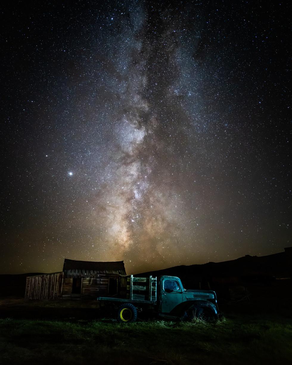 Milky Way Over Bodie
