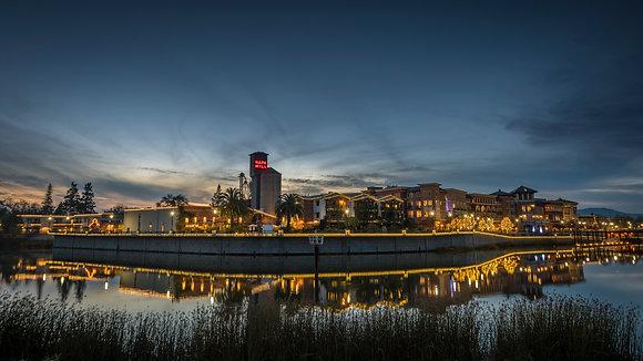 Riverfront Lights - Napa