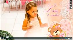 Slide show da Lais - 03 anos