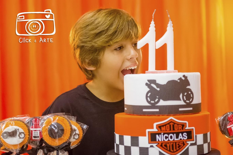 Aniversário do Nicolas