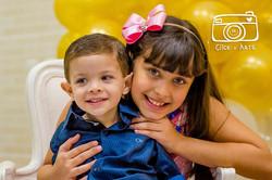 Aniversário da Letícia e Daniel