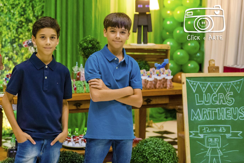 Aniversário do Lucas e do Matheus