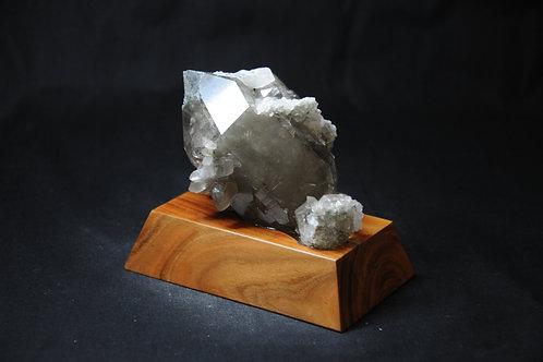 Bergkristall mit Einschuss Maderanertal