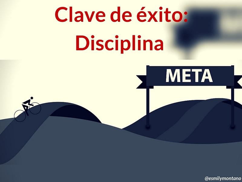 Clave Del éxito Disciplina Misitio