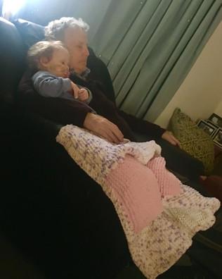 Fiadh & Grandad Jim