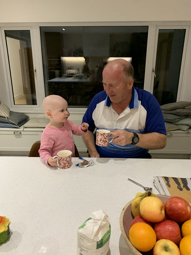 Toasting Grandad