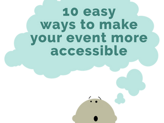 Include Everyone in Your 2019 Event!