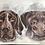 Thumbnail: 12x16 Double Pet Portrait