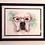 Thumbnail: Framed Double Matte 9x12 Pet Portait
