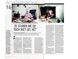 Gepubliceerd in het Dagblad van het Noorden, augustus 2014