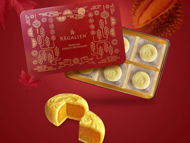 Régalien Durian Mooncake