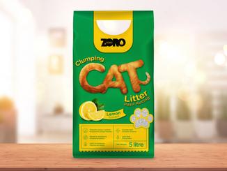 Zoro Cat Litter Packaging Design