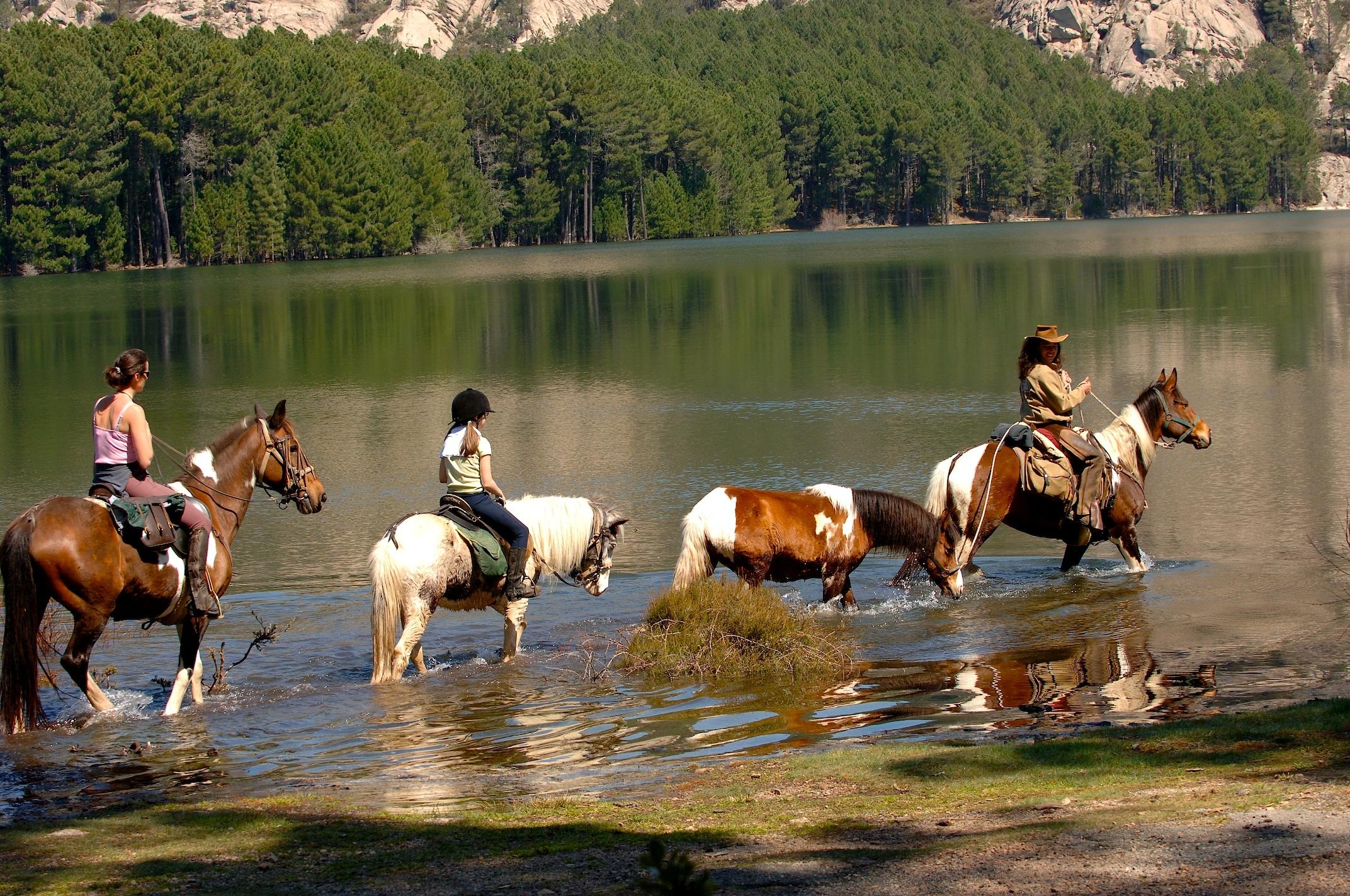 Randonnée lac de L'Ospédale