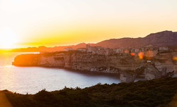 Bonifacio coucher de soleil