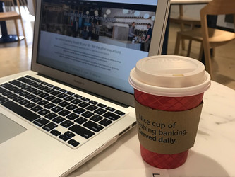 THE PERFECT PLACE TO WORK, RECHARGE, LEARN AND PLAY– CAPITAL ONE CAFE