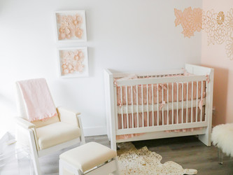 A NURSERY FIT FOR A PRINCESS