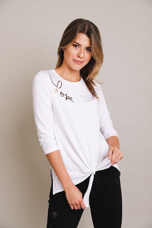 WordsCount Hope Shirt - White
