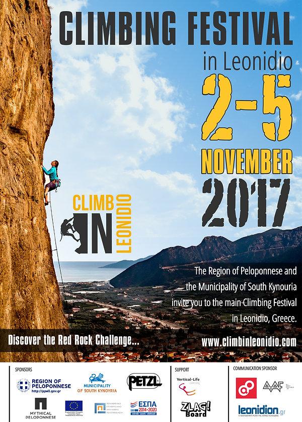 Climbing festival Leonidio 2-5.11.2017 / GHML