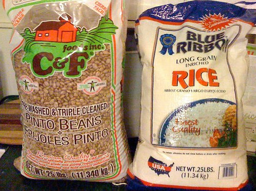 Rice & Beans (3lb bag)
