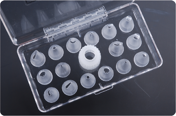 16-PC Assorted PC Nozzles with Coupler
