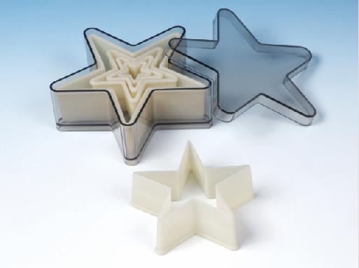 5-PC Star Nylon Cutter