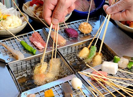 〈串まる〉おいしい串カツの食べ方