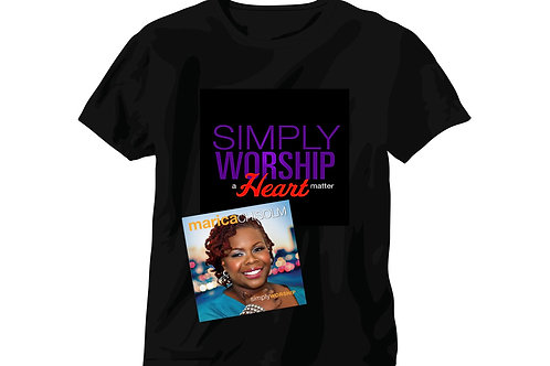 SIMPLY WORSHIP (Autographed & T-Shirt)
