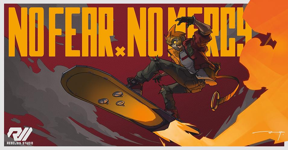 NO FEAR NO MERCY_poster