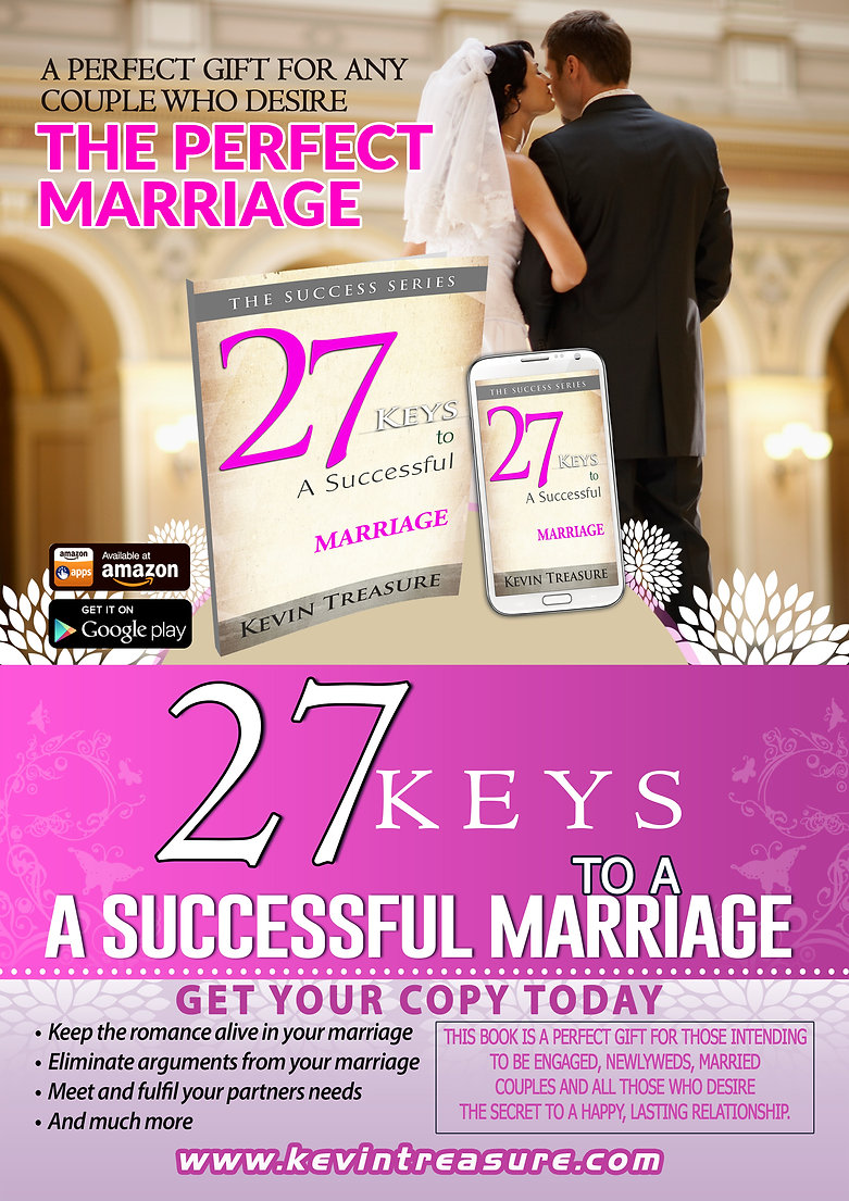 27 KEYS TO A SUCCESSFUL MARRIAGE Kevin Treasuren