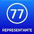 Novos logos escritos 77representante ver