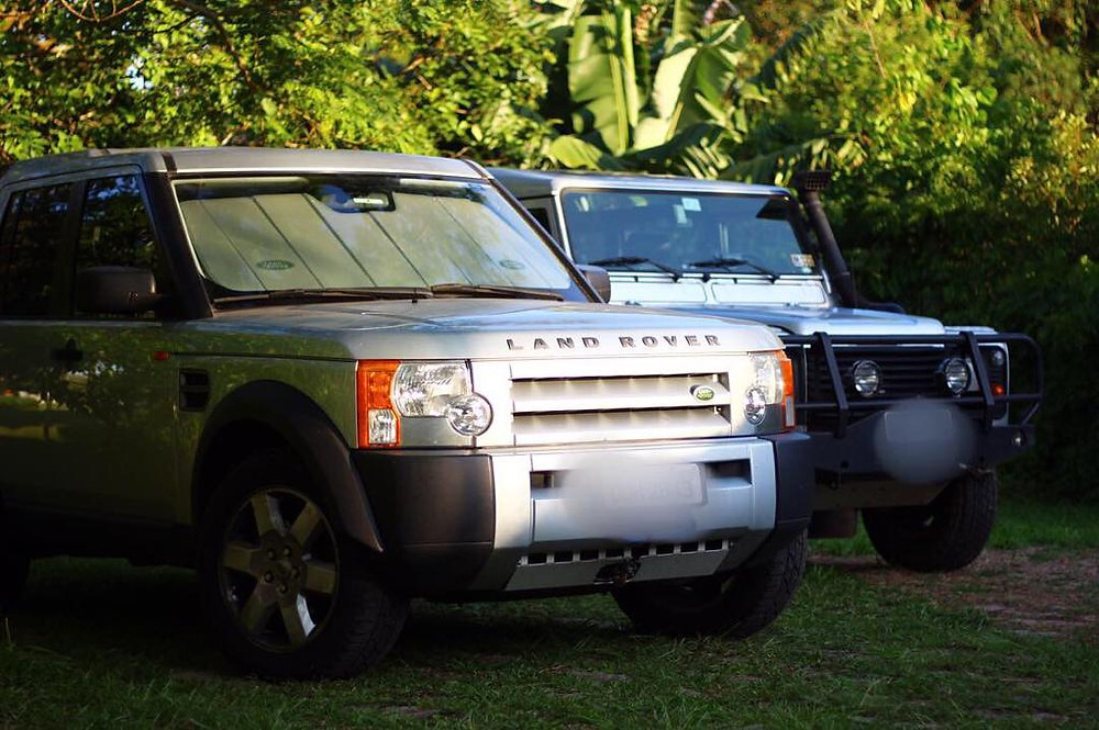 land rover discovery defender