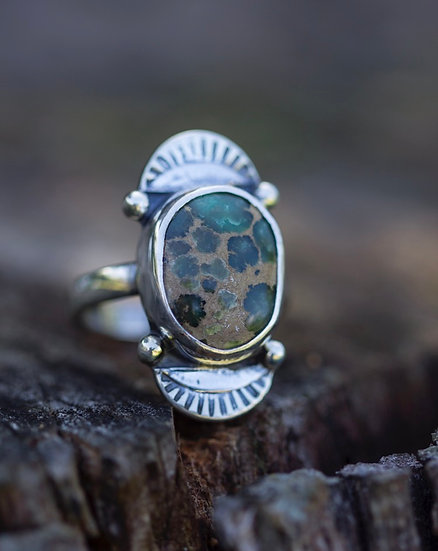 Damele Turquoise Ring
