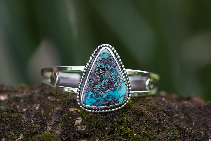 Turquoise Luna Cuff