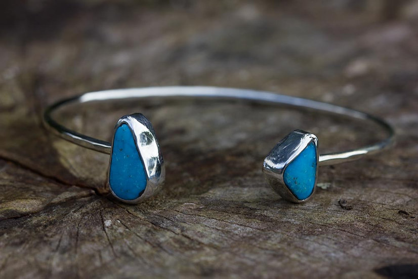 Sterling Silver Turquoise Cuffs