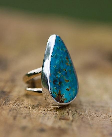 Turquoise Mountain Turquoise Ring
