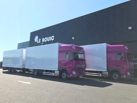 Camion/remorque FOURGON