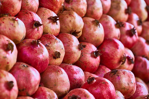 close-up-photo-of-a-bunch-of-pomegranate