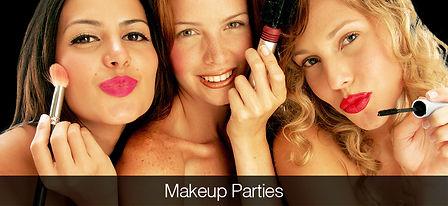 make up parties hen parties poole dorset bouremouth